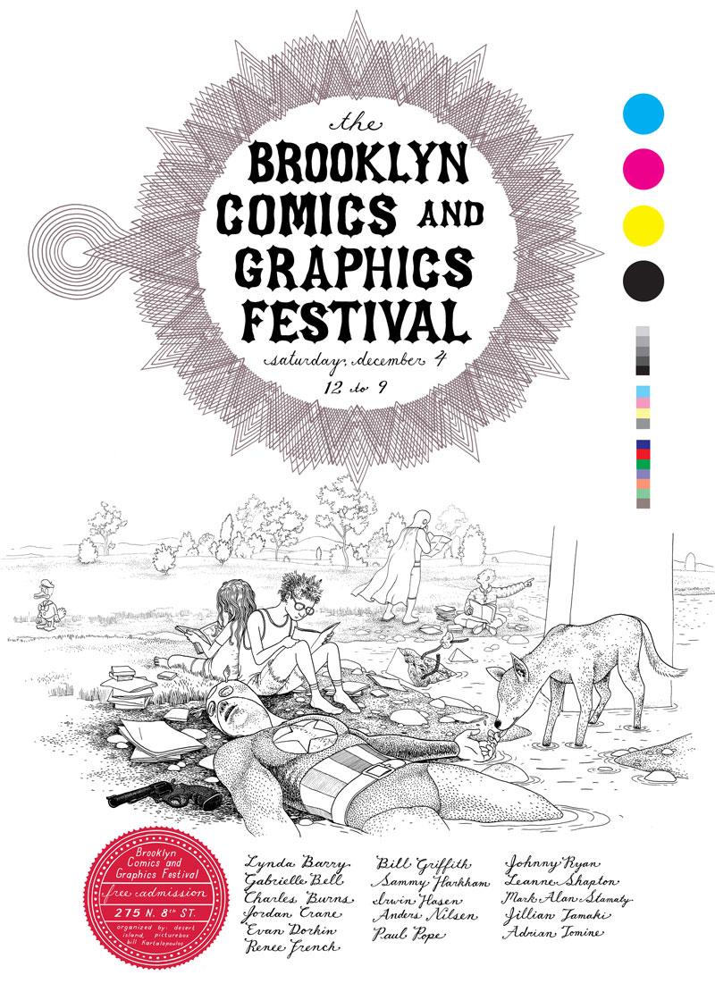 anders-nilsen-brooklyn-comics-and-graphics-festival-poster