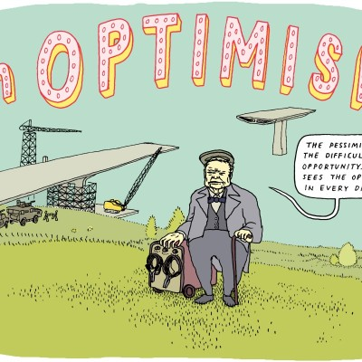 "Anders Nilsen, ""On Optimism."" (Why 2015 Won't Suck, Medium Magazine)"