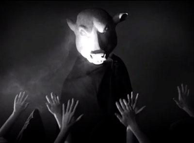 "Marcel Dzama, ""Une Danse Des Bouffons/A Jester's Dance."" 2013"