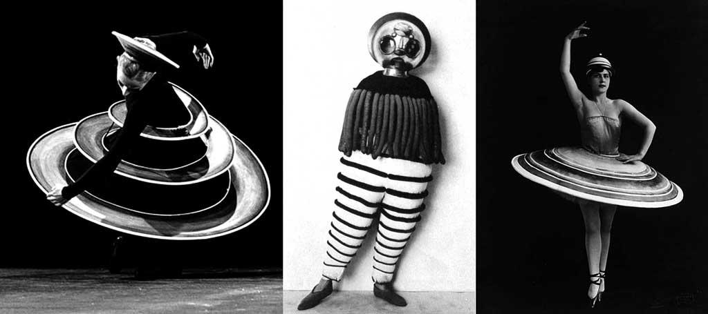 """Oskar Schlemmer, """"Triadisches Ballett (Triadic Ballet)."""" (1922)"""