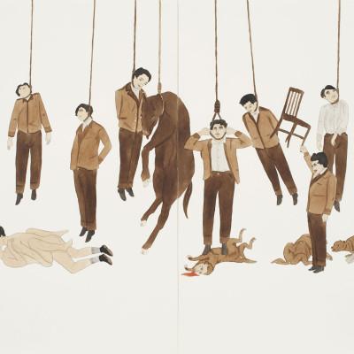 "Marcel Dzama, ""Untitled."" (2008)"